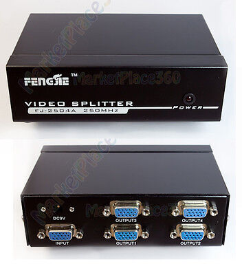 Vga switcher metal box hub