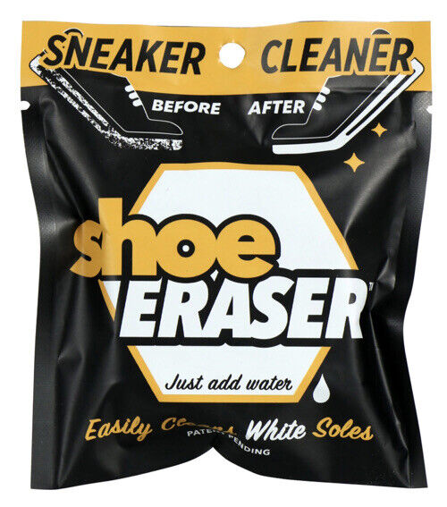 SNEAKER CLEANER Shoe Eraser Easily Cleans White Soles just add water