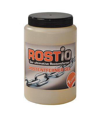 Rostumwandler Rostio Rostentferner Gel Rostschutz Rostlöser Entroster 1 Liter