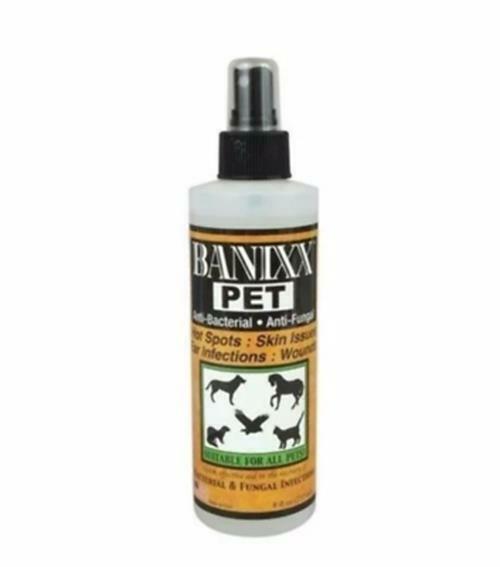 Banixx Wounds & infections fungal Hoof Care Thrush  White line Rain Rot  8oz