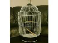 BRAND NEW Round Bird Cage For Sale [Suitable for Budgies/Lovebirds/Finches/Canaries/Parrotlets/Etc]