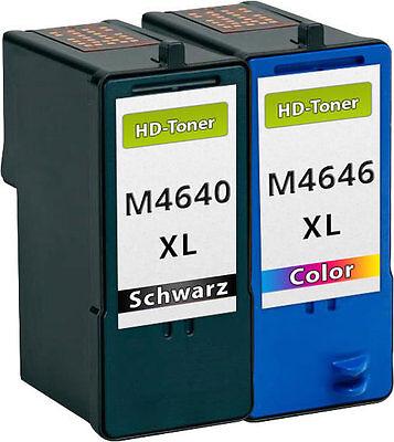 Dell 924 Drucker Tinte (2 XL TINTE PATRONEN M4640 M4646 J5566 J5567 für Dell 922 924 942 944 946 962 964)