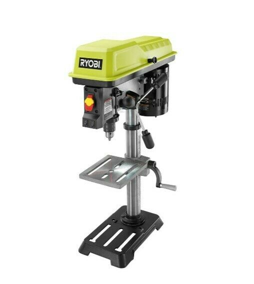 RYOBI 10 in. Drill Press with EXACTLINE Laser Alignment System
