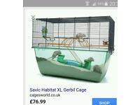 Savic habitat XL gerbil / hamster cage