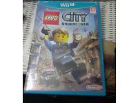 LEGO City Undercover Game Nintendo Wii U