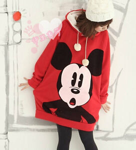 l87 korea girl women cartoon sweet mickey mouse hoodie. Black Bedroom Furniture Sets. Home Design Ideas