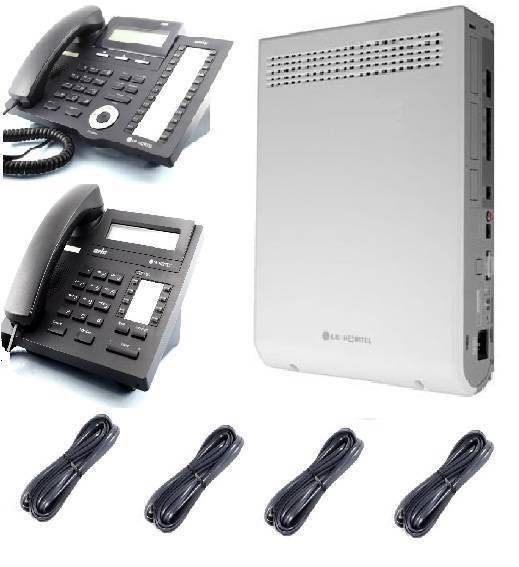 Lg Aria Ip 24 Phone System Pack 4 Pstn Line And 7 Display Phone Gst+del Inc