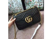 Gucci marmont black bag brand new