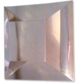 Chrome Wall Light 15 cm x 15 cm
