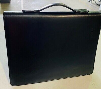 Black Portfolio Folder-business Organizer-resume Padfolio
