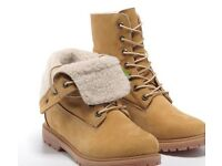 Genuine Sherpa Lined Unisex Timberlands 6