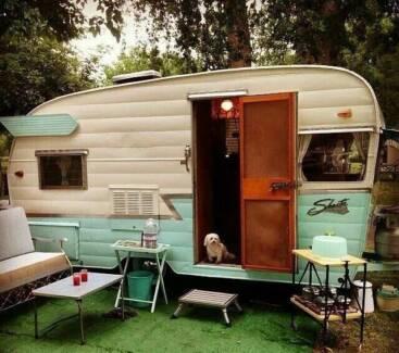 Wanted retro vintage fixer upper caravan