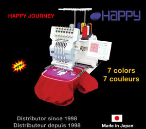 Embroidery Machine - Happy Journey