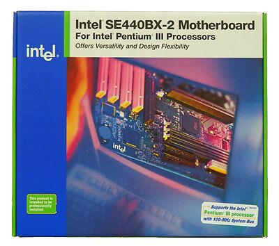 INTEL SE440BX-2 MOTHERBOARD P3 PII 4PCI 2ISA ATX MB
