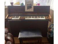 1974 baldwin funmachine organ synthesizer analogue drums