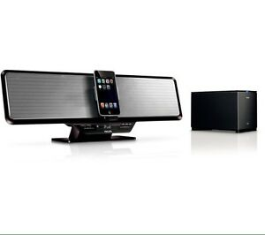 Philips DC912 Shelf Bar Sound System with wireless subwoofer