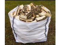 100% seasoned fire logs