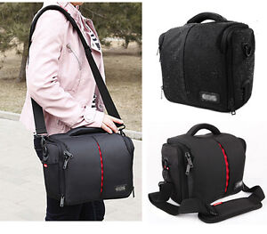 Waterproof-Camera-Shoulder-Case-Insert-Bag-For-Digital-DSLR-Nikon-Canon-Sony