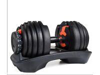 Sale - 24kg Adjustable dumbbells