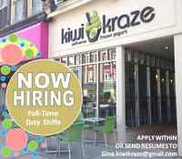 Kiwi Kraze Downtown Stratford - NOW HIRING FULL TIME DAY SHIFT