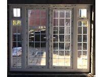 Patio Doors, 2 Side Panels - UPVC