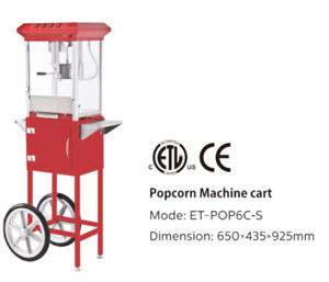 8oz Popcorn Machine with stand