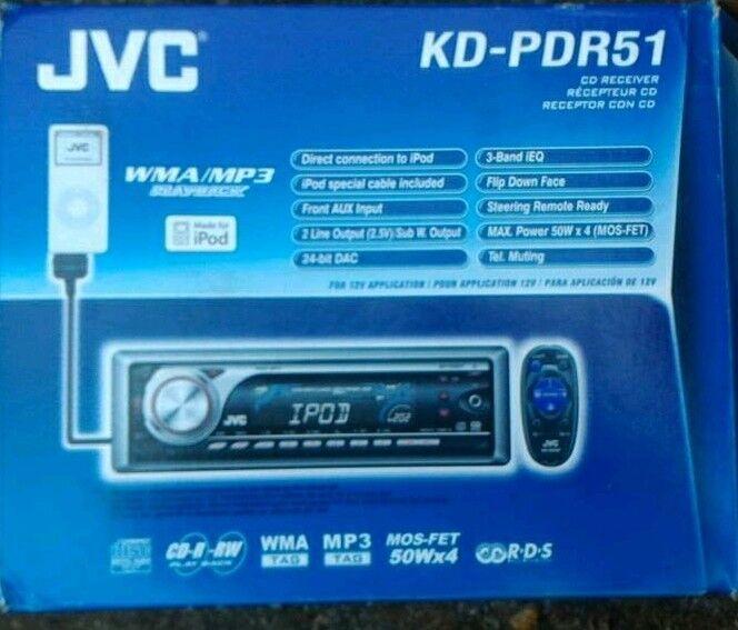 Car Radio - JVC KD-PDR51 | in High Wycombe, Buckinghamshire | Gumtree