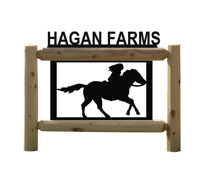 PERSONALIZED HORSE SIGN - HORSES - EQUESTRIAN - SADDLES