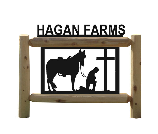 HORSE SIGNS - COWBOYS - EQUESTRIAN GIFTS