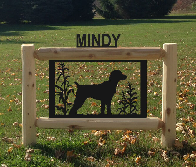 BRITTANY-DOGS-HUNTING-PETS CLINGERMANS LOG SIGNS
