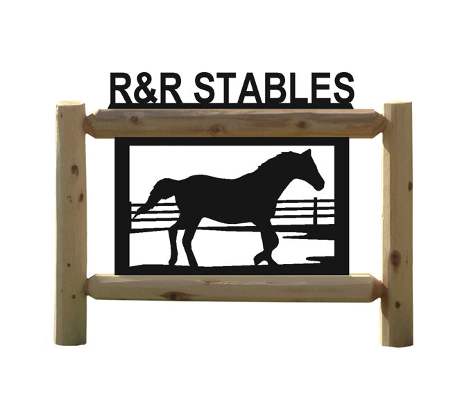 PERSONALIZED HORSE SIGN - HORSES - EQUESTRIAN - HALTERS - SADDLES