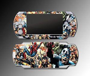 Amazing-Spider-Man-Video-Mutant-Avengers-Hulk-Game-SKIN-Cover-3-Sony-PSP-1000