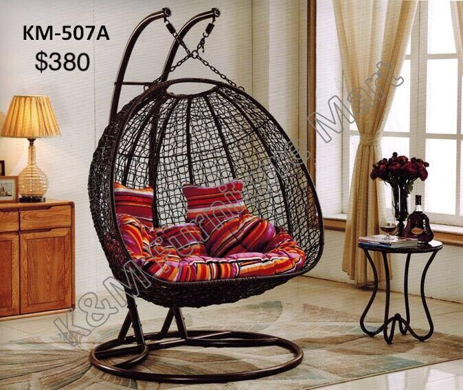 **MODERN TWO SEATER HANGING SWING CHAIR**