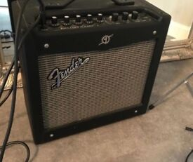 Fender Mustang I Amplifier and Footswitch