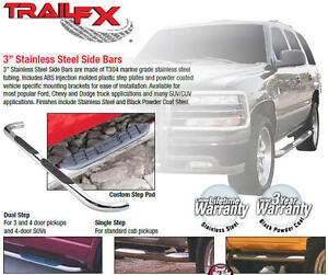 2016 DODGE RAM STEP BARS SOME IN STOCK NEW WITH WARRANTY London Ontario image 4