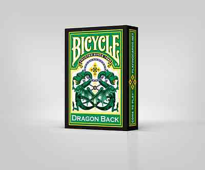 Bicycle Dragon Back Green Playing Cards By Gamblers Warehouse New USPCC Poker