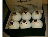 Polo Ralph Lauren Golf Ball Set