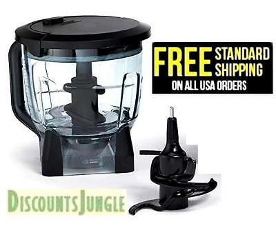 Ninja 64oz Food Processor Blender Bowl + Blade FOR BL640 BL642 BL641 BL680 BL680