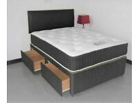 ⭐🆕BRAND NEW DIVAN BEDS IN ALL SIZES WITH STORAGE OPTION HEADBOARDS AND CHOICE OF MATTRESS