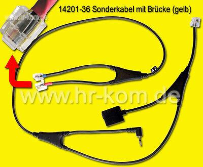 Msh-adapter (Alcatel MSH Adapter Kabel für Jabra GO PRO Headset 14201-36)
