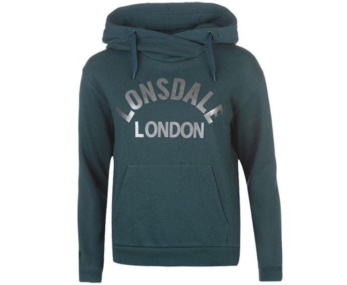 LONSDALE Damen Sweatshirt Kapuzenpullver 3 Farben S-XL h2