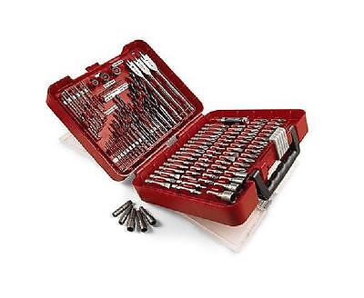 Drill Driver Accessory Set - Craftsman 100-pc Accessory Kit Set Drill Bit Driver Screw Tools Case AWESOME !!!