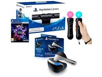 Like new - in box PlayStation VR bundle with motion controllers