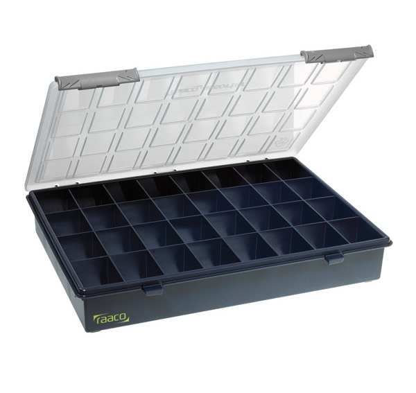 Raaco 136181 A4 32 fixed compartment assorter component case box * Free post *