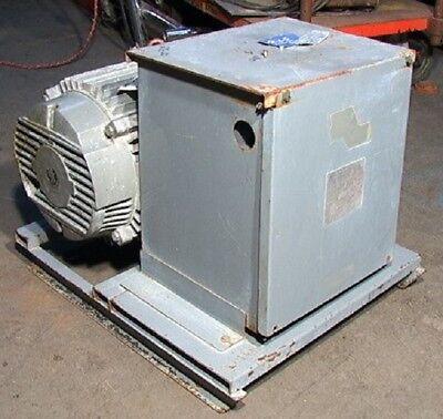 20hp 230 Volt Steelman H A S Rotary 3-phase Converter