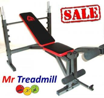 GRUNT Bench Press + Leg work Attachments | Mr Treadmill Hendra Brisbane North East Preview