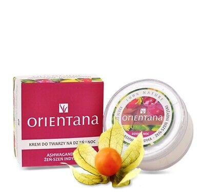 100% Bio Gesichtscreme Ashwagandha Safran 0% Silikone Parabene Mineralöl Vegan