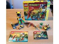 LEGO Dino Sets 5882 and 5883 - complete