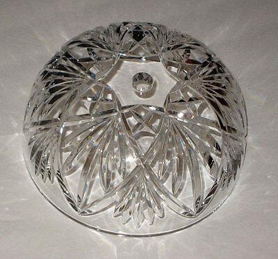 waterford KILKEA crystal LAMP SHADE /  Globe / Part  NEW ***SALE***    (Waterford Shade)