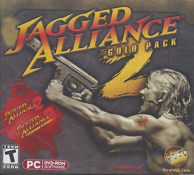 JAGGED ALLIANCE 2 GOLD PACK + Unfinished Business - Windows XP, Vista, 7 - NEW! Jagged Alliance 2 Gold Pack